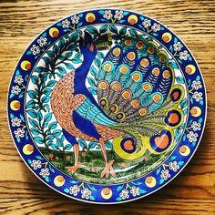 Ceramic Pottery, Pottery Art, Tile Art, Plates, Decoration, Tableware, Painting, Design, Licence Plates