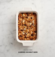 Gluten-Free Almond Coconut Bars from Love and Lemons.