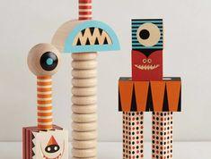 Les jouets en bois - idées créatives d'amusement