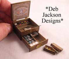 From DJD Art box. by DebJacksonDesigns on Etsy, $226.00
