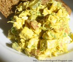 What does your body good?: Not too eggy