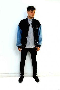 Men's vintage varsity jacket. Click to buy!