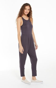 Z Supply Smooth Sailing Jumpsuit – Wilde and Sparrow Care Care, Wardrobes, French Terry, Warm Weather, Sailing, Cool Style, Bleach, Jumpsuit, Smooth