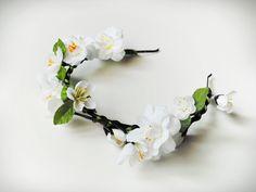 2b1d98afb3f květinová čelenka NYMPHIA   Zboží prodejce Wendelina D.
