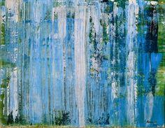 "Saatchi Art Artist Geoff Howard; Painting, ""Landscape:Waterfall"" #art"