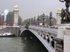 Alexandre's bridge  Shimmers of Pearl