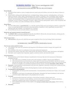 Psychiatric nursing  review by grey clemente via slideshare