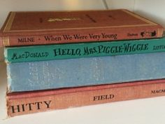 Well-loved books