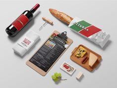 Azzurra Ristorante | Restaurante | Direção de arte, embalagens e comunicação.
