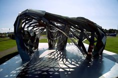 Parametric Steel Pavilion