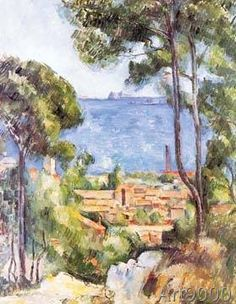 Paul Cézanne - L`Estaque