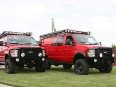 Sportsmobile 4x4 Van With Aluminess Winch Bumper Roof