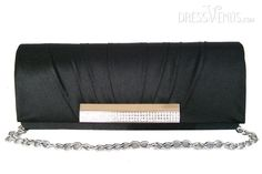 US$27.99 Fashionable Silk Wrinkle Handbag With Rhinestone For WeddingWrinkleEvening. #Clutch #With #For #Fashionable