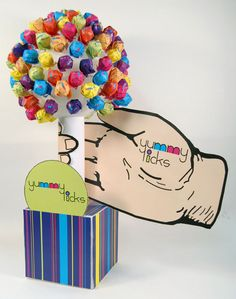 Point of Purchase Display by Kristina Hern, via Behance