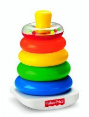 Fisher-Price Brilliant Basics Rock-a-Stack. Fisher-Price Brilliant Basics Rock-a-Stack Fisher Price, Baby Kind, Our Baby, Toddler Toys, Kids Toys, Toys For Babies, Baby Boy Toys, Toddler Stuff, Toddler Gifts