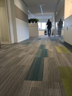 Achromatic tile & Duotone tile from Color at Work Collection by Shaw Contract