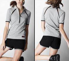 There are also polo shirt with three color variations (white, gray, and red), and many more collections of sport collection. Description from morefashionable.com. I searched for this on bing.com/images