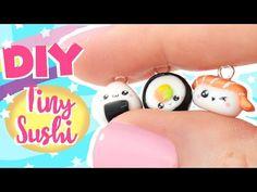 ♡ 3 TINY SUSHI Charms DIY!♡ | Kawaii Friday - YouTube