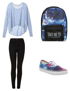 """Untitled #101"" by alexandragabriela2 on Polyvore featuring Vans, Victoria's Secret, Topshop and Disney"