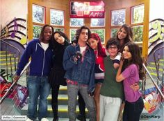 Victorious Cast- The Breakfast Bunch Breakfast Club, 2000 Kids Shows, Victorious Nickelodeon, Ella Anderson, Victorious Cast, Nickelodeon Shows, Sam And Cat, Avan Jogia, Aesthetic Movies