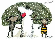 Wer baut die schönste Schneemaus?