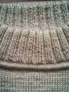 Модели вязания: Вывязывание горловины свитера. Подробно по ссылке ...