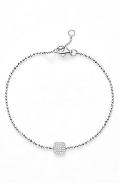 Bony Levy 'Aurora' Diamond Pavé Square Bracelet (Nordstrom Exclusive) available at #Nordstrom