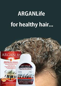 ArganLife Products saved to Hair Loss Treatment For Men It nourishes hair from root to tip, strengthening it, thereby helps to prevent hair loss. Hair Loss Cure, Stop Hair Loss, Prevent Hair Loss, Home Remedies For Hair, Hair Loss Remedies, Hair Fall Control Tips, Anti Hair Loss Shampoo, Natural Shampoo, Hair Dandruff