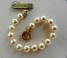 Special Bride - 1970-vintage Italian, Pearls and clasp 925 sterling silver-beautiful and elegant high quality for the bride--Art.369/2-