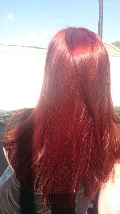 My Henna hair