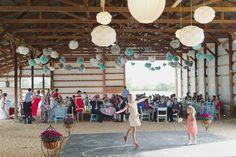 pole barn reception