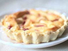 Receta de quiche lorraine #receta #quiche #lorraine #bechamel #thermomix #entrante #bacon #charhadas