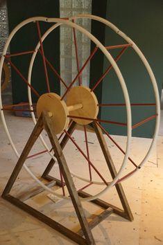 How to Make A Ferris Wheel out of Crochet | ferris wheel frame