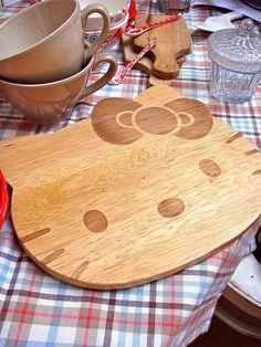 Hello Kitty Kitchen Cutting Board by kbo, via Flickr