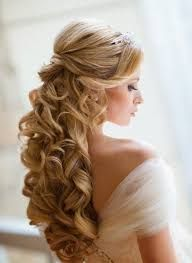 Resultado de imagen para peinados de novia cabello suelto