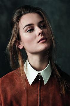 Great look, model Jac Jagaciak by Sebastian Kim from the Bergdorf Goodman catalogue fall 2015.