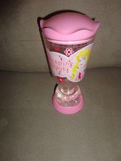 Disney Sleeping Beauty Princess Snow Globe Drinking Cup find me at www.dandeepop.com
