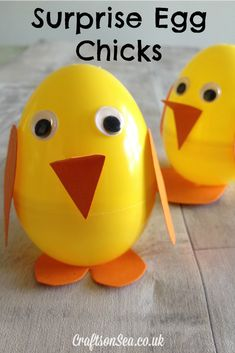 Surprise Egg Chicks - Crafts on Sea