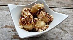 Mogyorós-fahéjas sült banán Potato Salad, Cauliflower, Paleo, Potatoes, Sweets, Vegetables, Ethnic Recipes, Food, Good Stocking Stuffers