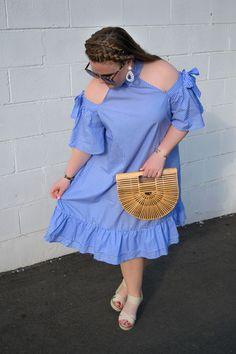 Cold-Shoulder Bow Dress - Scrubs & Sparkles