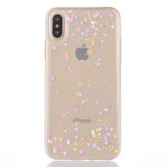 Aliexpress.com : Buy LACK Colorful Glitter Bling Phone Case For iphone X Case Fashion Ultra Slim Soft Clear Cases Shinning Powder Star Cover Fundas from Reliable case for iphone suppliers on LACK Official Store