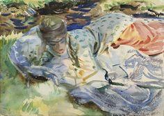Zuleika (c. 1907) by John Singer Sargent