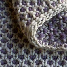 Beautyberry Blanket - Free Pattern