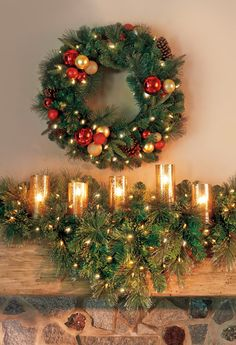 How do you decorate your mantle this season?