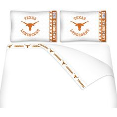 Use this Exclusive coupon code: PINFIVE to receive an additional 5% off the Texas Longhorns Microfiber Sheet Set at SportsFansPlus.com