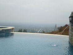 "Negative Edge Pool.  I always recommend ""Abstract Pool Design"" to my clients for new pools or remodels."