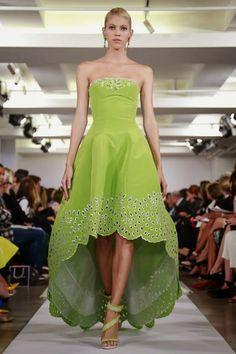 OSCAR DE LA RENTA - Spring Summer 2015 - New York Fashion Week