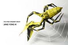 Diadem spider - Jang yong ik | 51*51cm test foldig | Jang yong ik | Flickr