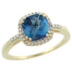 https://ariani-shop.com/14k-yellow-gold-diamond-natural-london-blue-topaz-ring-cushion-cut-7x7mm-sizes-5-10 14K Yellow Gold Diamond Natural London Blue Topaz Ring Cushion-cut 7x7mm, sizes 5-10
