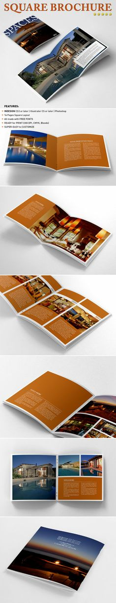 Architecture Brochure Template Brochure template, Brochures and - architecture brochure template